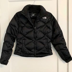 The North Face 550 puffer ski jacket